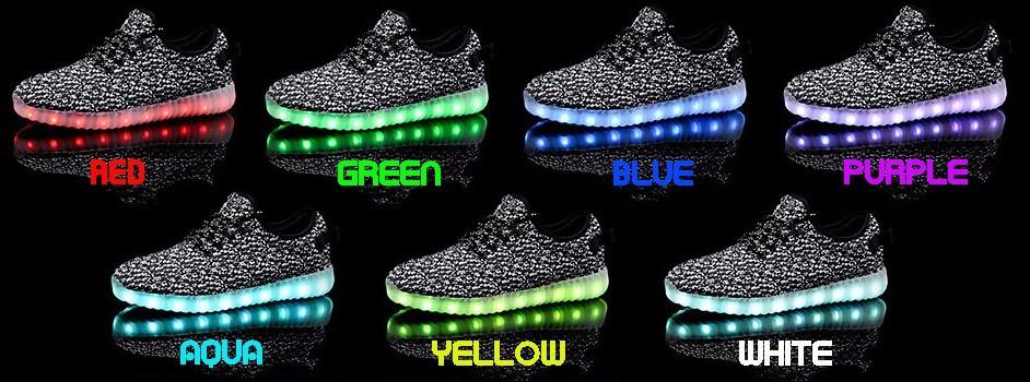 Staň se hvězdou parketu! Aneb obuj svítící LED boty! 7468eca0d8